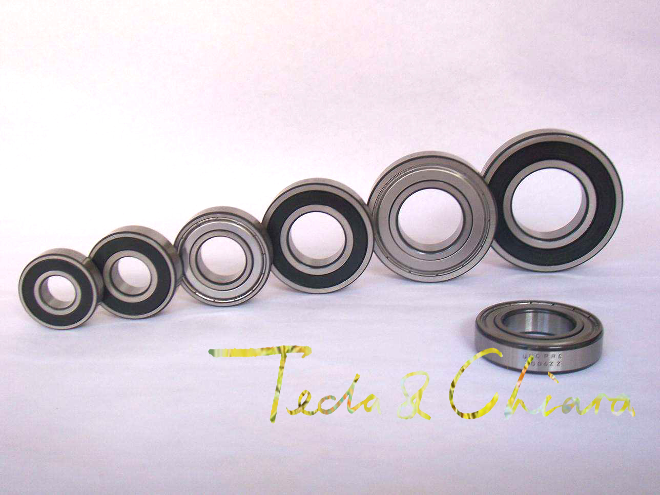 608-2RS 8x22x7mm ABEC1 Thin-wall Shielded Deep Groove Ball Bearing 10