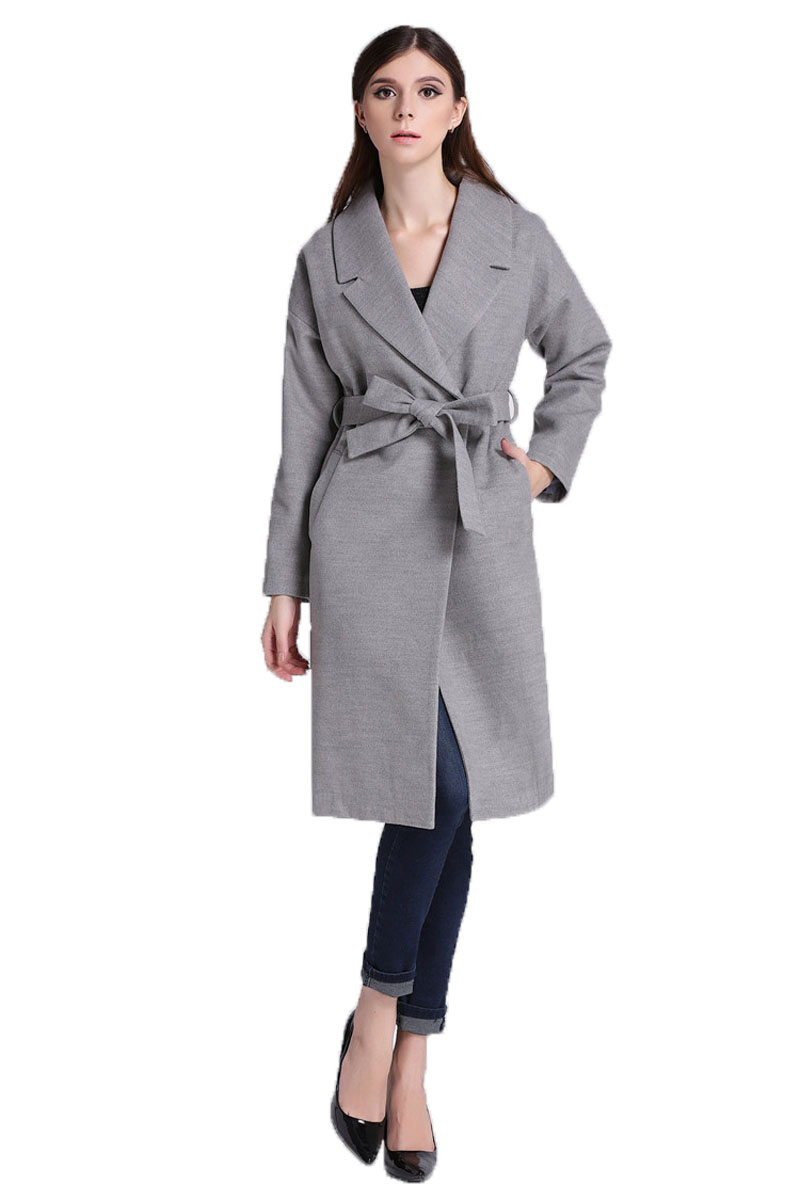 Compare Prices on Womens Grey Wool Coat- Online Shopping/Buy Low ...