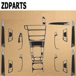 ZDPARTS Auto Speziellen Für Audi A4 B6 B8 B7 B5 A5 Q5 Zubehör Kohlefaser Innenleisten Aufkleber Auto-styling Großhandel