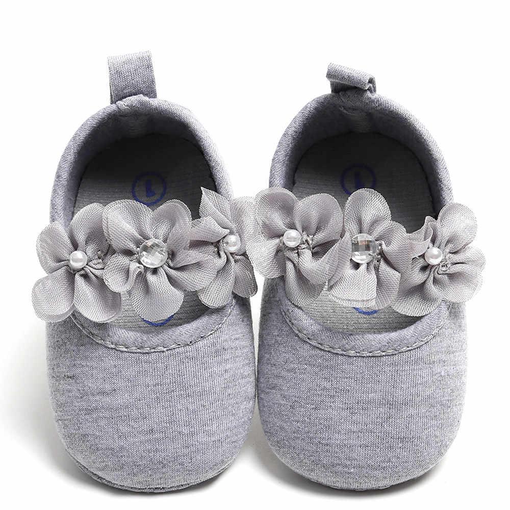 2018 Fasion חם למכור הטוב ביותר מתנת יילוד תינוק בני בנות אביב/סתיו כותנה פעוט הדפסת להחליק על ראשון ווקר רך נעליים