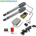 400 KG Automatische dual arms elektrische swing deur gate Opener Operator Motor actuator dichter swing gate opener voor toegangscontrole