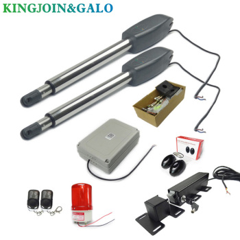400KG Automatic dual arms electric swing door gate Opener Operator Motor actuator closer swing gate opener for access control optical turnstiles pass gates full automatic swing barrier for access control swing turnstile motorized barrier turnstile