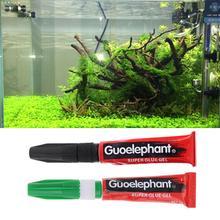 Аквариумные моховые растения, клей для водных рыб, аквариума, аквариума, коралловых рифов, украшения, сделай сам, клей