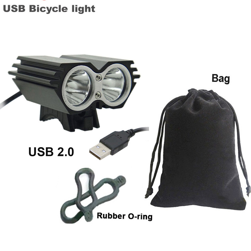 SolarStorm 8000LM 2x T6 LED Front Head Bicycle Light Bike Headlamp Flashlight CC