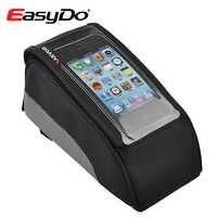 EasyDo, odporny na deszcz, górna rura torba rowerowa rower dotykowy pokrowiec na telefon komórkowy 5.5in Bolsa Bicicleta jazda na rowerze akcesoria Sacoche Velo