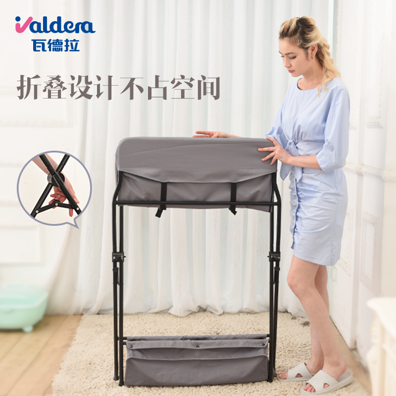 Table à langer bébé table de massage bébé table de soin nouveau-né table tactile vêtements à langer couche à langer multi-fonction pliante