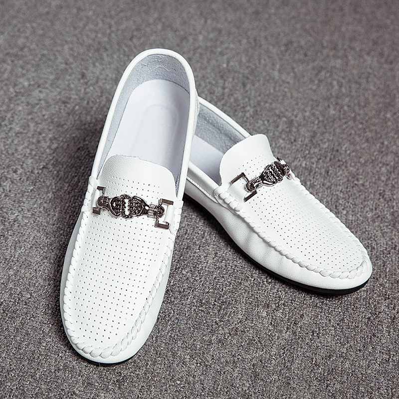 3f12e25c8a 2019 summer slip on driving shoes mens shoes leather black casual designer  shoes men loafers mocasines hombre tenis masculino -in Men s Casual Shoes  from ...