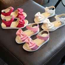 Cute girl bow princess sandals 2020 new summer sandals girl