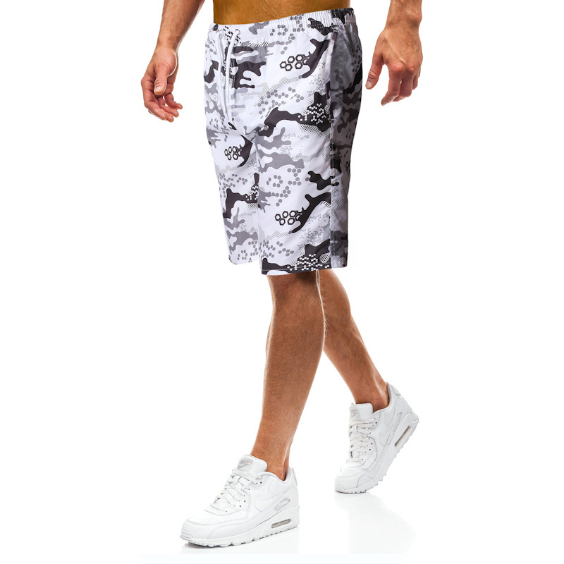 2019 New Beach Men Shorts Amazon Men's Style Shorts Sports Camouflage Print Men Shortswimming Shorts Quick Dry For Men