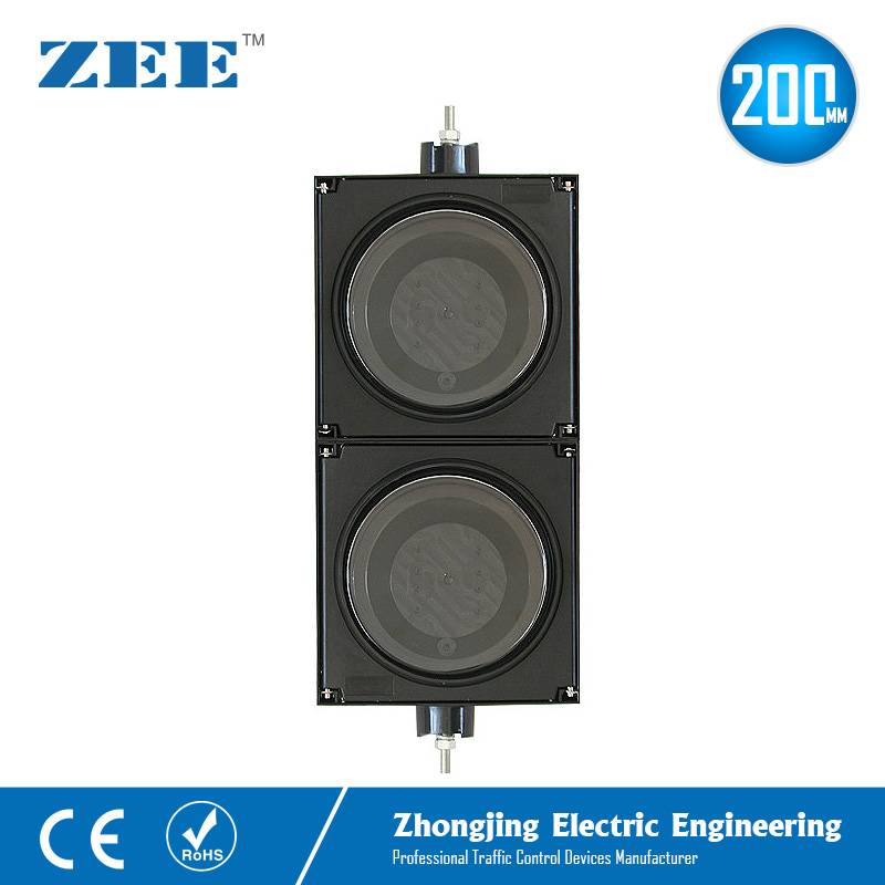 8inches 200mm LED Traffic Light Housing PC Plastic Traffic Light Parts IP65 Water Proof Housing Traffic Signal Accessories
