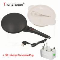 Transhome Kitchen Tools Electirc Pancake Maker Pizza Machine Pancake Machine Baking Cake Machine Non stick Griddle For Kitchen