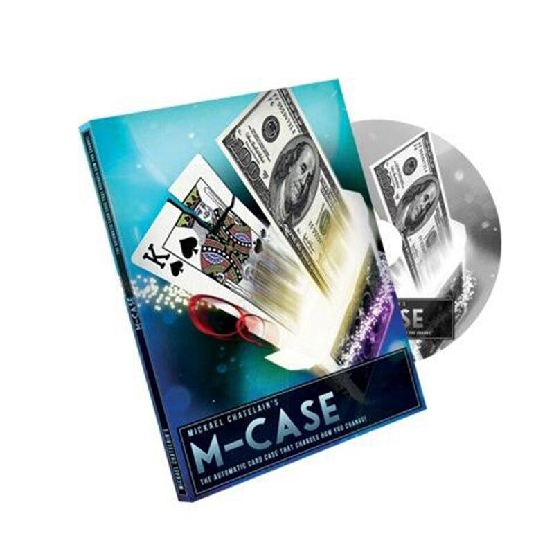 M-Cas par Mickael Chatelain (Gimmicks + DVD) carte de tours de magie accessoires magiques près magique comédie illusions mentalisme 81335