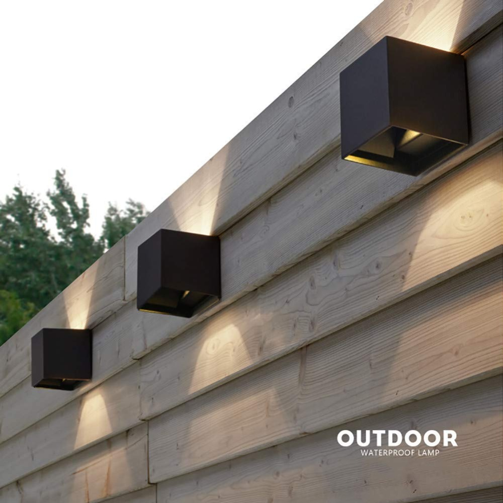LED wall light IP65 Waterproof Outdoor Wall Lamps Indoor LED Stair Light AC85-AC265V Corridor Lighitng bedside Wall Lamp AT-06 6w 12w 24w led outdoor wall lamps ip65 waterproof wall lamp indoor stair light ac85 265v corridor lighitng bedside wall lights