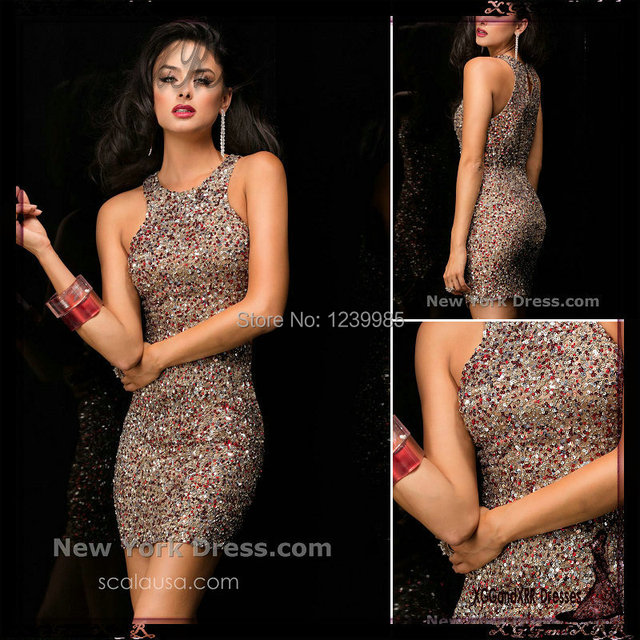 Charming 2017 Winter Formal Scoop Off The Shoulder Sequins Lace