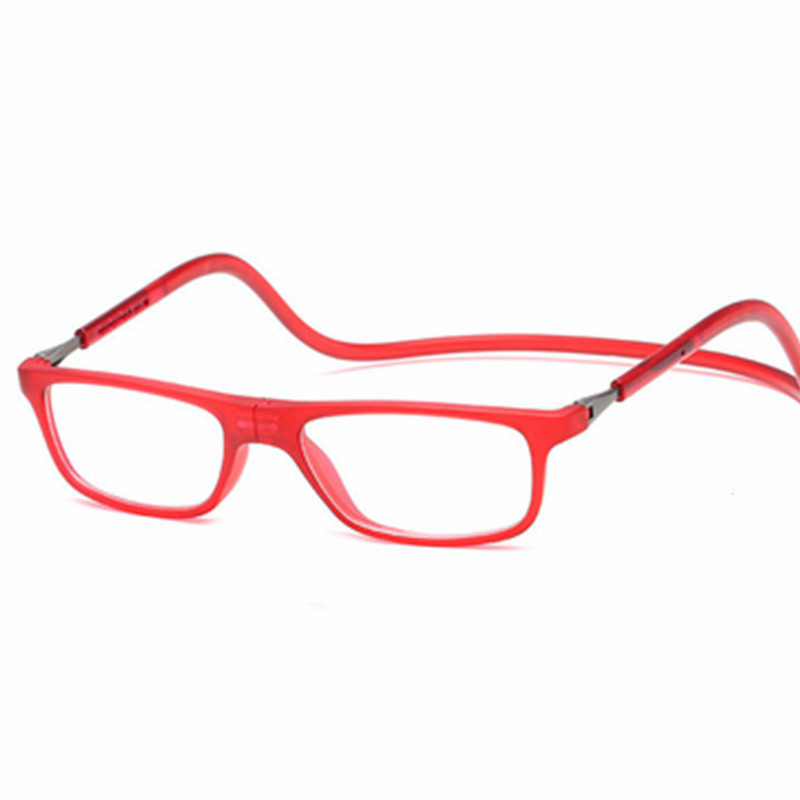 3f5a139971 Magnetic Foldable reading glasses men women round Eyeglasses frame Oculos  lunette de sol masculino lecture homme