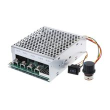 DC 10-55V 100A Motor Speed Controller Reversible PWM Control Forward/Reverse 10 50v 100a 5000w programable reversible dc motor speed controller pwm control 12v 24v 36v 48v soft start forward reverse switch