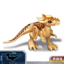 Jurassic World 2 Legoing Dinosaur Styx Dragon Building Blocks Jurrassic Park 3 Dinosaurs Figures Bricks Toys Compatible Legoings(China)