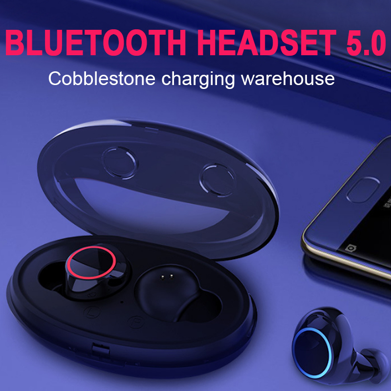 SweatProof Bluetooth Earphone Balance Touchpad Wireless Earbuds Game Smooth Sports Earphones Computer|Telephone Headsets| |  - title=