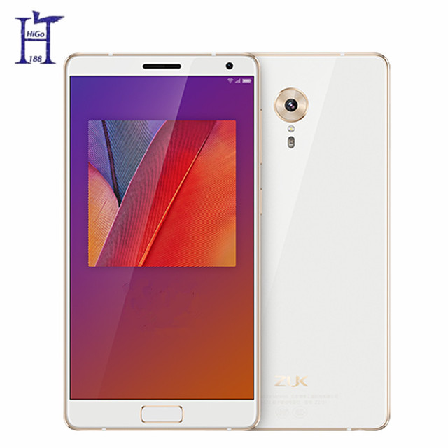 "New Lenovo ZUK Edge 6GB RAM 64GB ROM Snapdragon 821 2.35GHZ 4G LTE 5.5"" 1080P 13MP Android Mobile Phone Fingerprint ID"