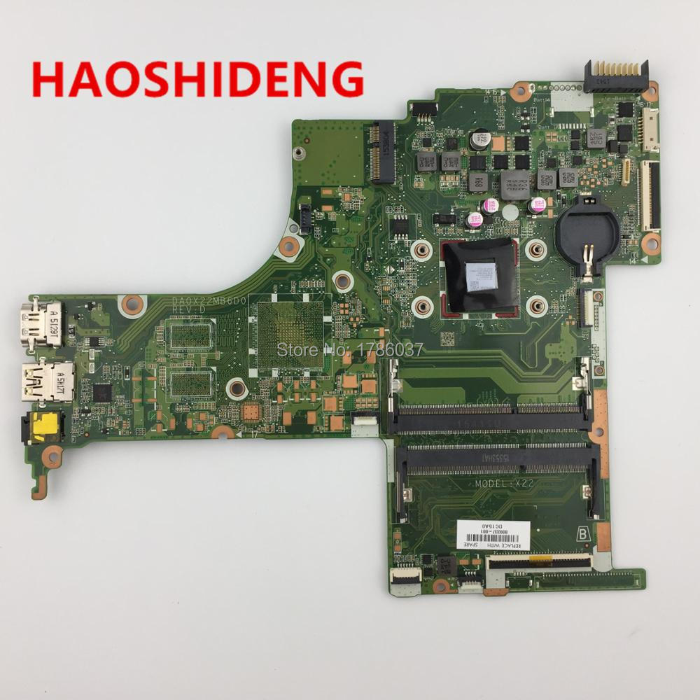 809337-001 809337-501 DA0X22MB6D0 X22 for HP Pavilion Notebook 15-ab series motherboard with A8-7410 CPU.All fully Tested ! 744008 001 744008 601 744008 501 for hp laptop motherboard 640 g1 650 g1 motherboard 100% tested 60 days warranty