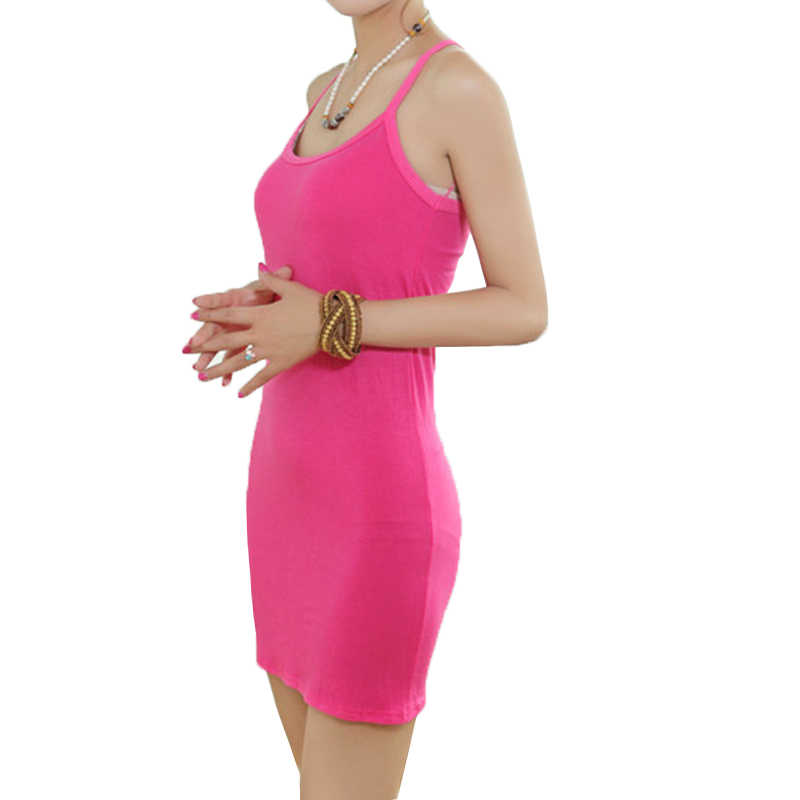 Casual Modal Bodycon Sleeping Dress Slim Nightgown Women Pijama Sleeveless  Nightdress Summer Cami Dresses Night Wear 5eede28bc