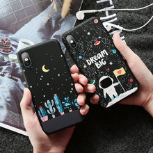 Starry sky Phone Case For Huawei P30 Pro P30 lite NOTE10 Nova 4 Y6 Y9 Cute Cover For Honor View 20 8C 8Xmax P Smart 2019 Case(China)