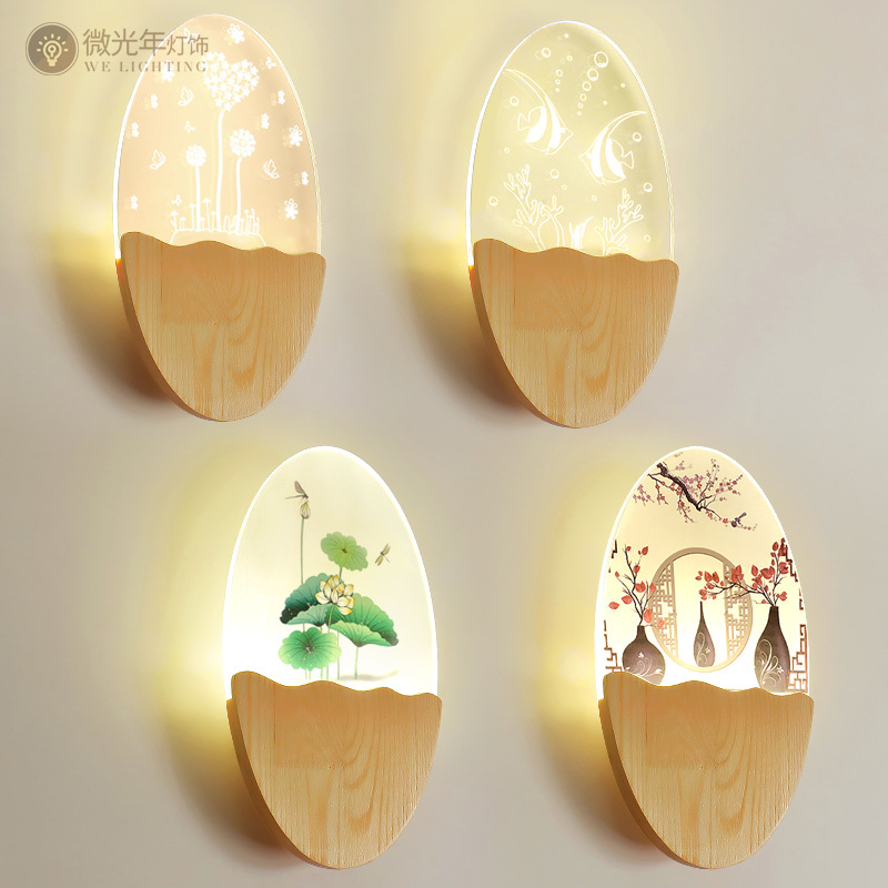 15W LED Wall Lamp Modern Creative Bedroom Beside Wall Light Indoor Living Room Dining Room Corridor Lighting Decoration [ygfeel] 18w led wall lamp modern creative bedroom beside wall light indoor living room dining room corridor lighting decoration