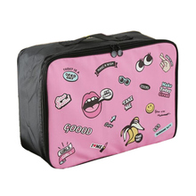 luggage bags men women cartoon Travel bags Big luggage clothing bag Pull rod box Arrange package Travel organizer Free shipping
