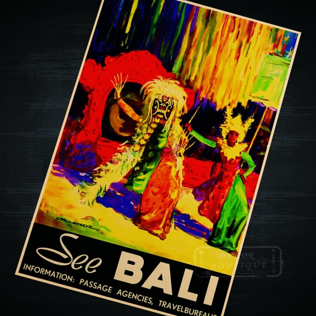 See Dancing Bali Indonesia Cuture Landscape Trip Travel Retro