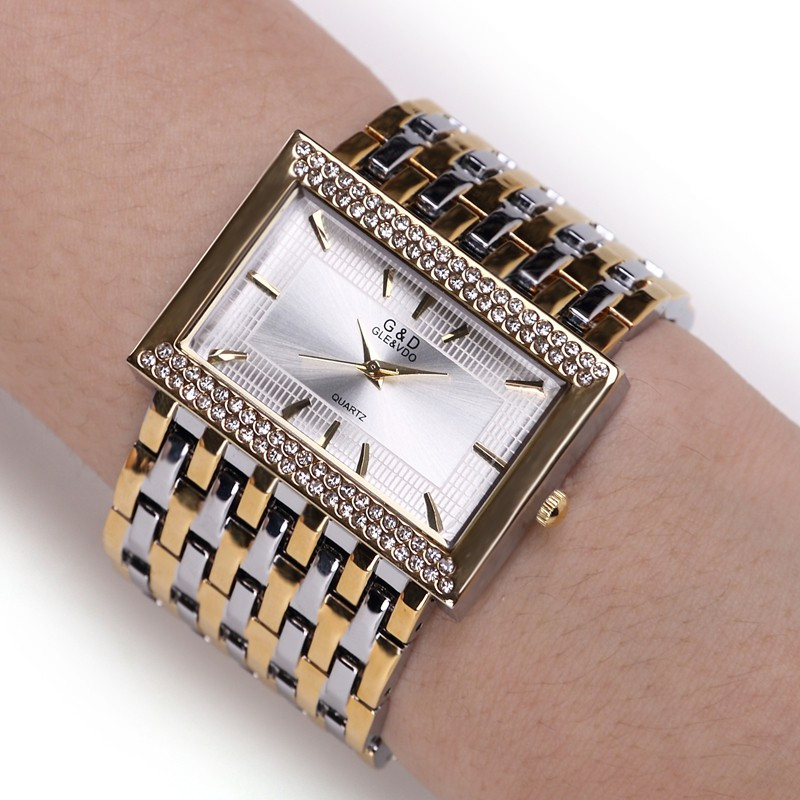 2018 New Brand Relogio Feminino Clock Female Stainless Steel Watch Ladies Fashion Casual Watch Quartz Wrist Women Watches