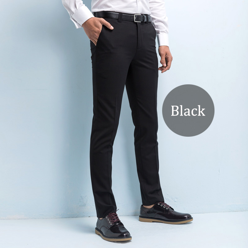Custom Made Men s Suit Pants Twill Casual Business Men Pants Slim Fit Trousers Wrinkle resistant