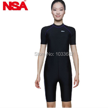 NSA Anti-UV Polyester swimwear protective swiming suit tight – fitting water sport wetsuits unisex diving suit free shipping