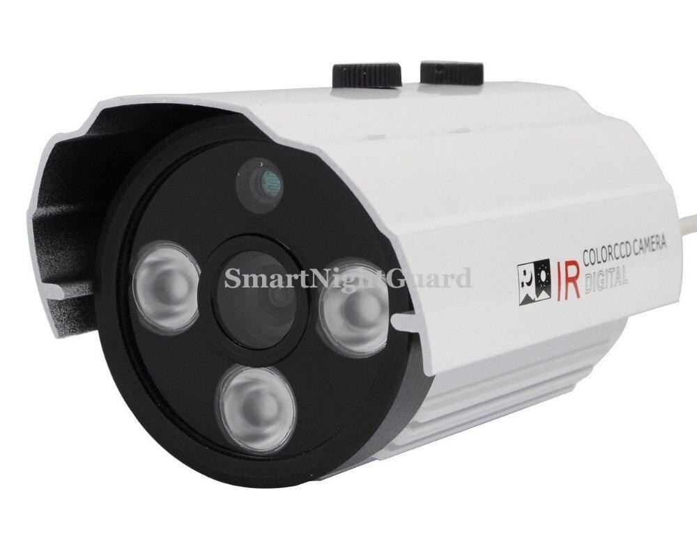 ФОТО Newest CCTV Camera HD 900TVL CMOS with 3Array LEDS Security Waterproof Bullet Camera IR distance 50M Night Vision