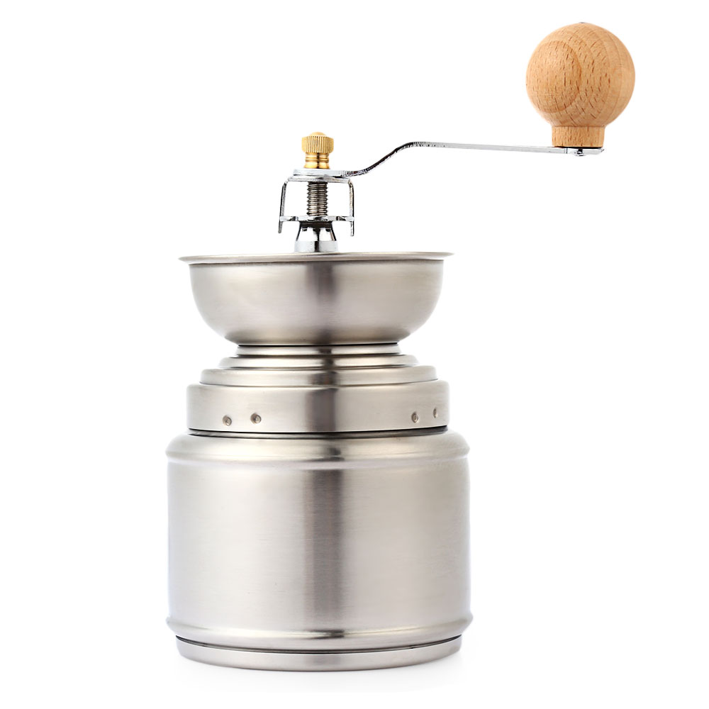 Coffee grinder Portable multi-function manual coffee grinder stainless steel adjustable ceramic coffee grinder 014
