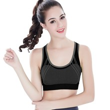 New Gym Bra Quick-drying Push Up Seamless Fitness Top Bras Shockproof Crop Tops Sexy Women Running Yoga Sports Bras