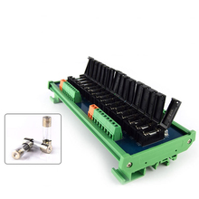 8/16-way insurance module, universal fuse, DC AC 24V current overload protection, can be customized