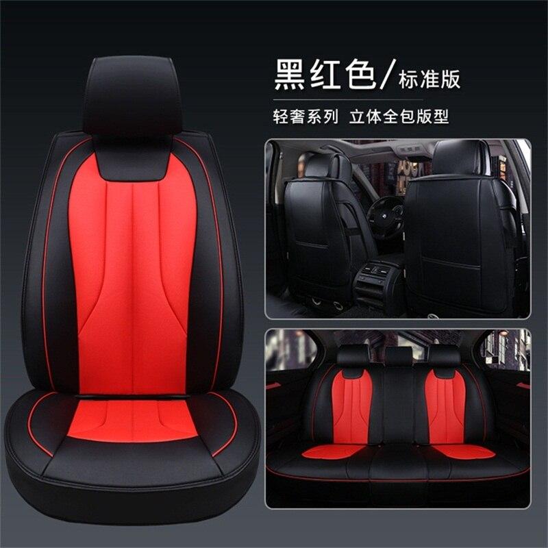 Универсальные чехлы для автомобильных сидений из искусственной кожи для ISUZU d max pickup truck всего Fengshen h30 s30 fengshen ax7 lada