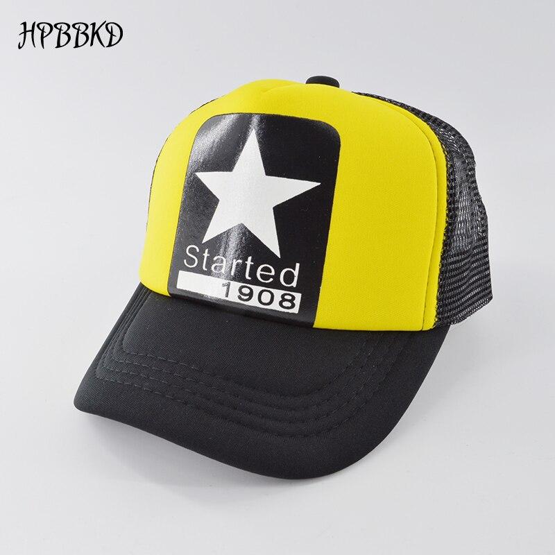 Kids Baby Boys Girls Outdoors Mesh Baseball Cap Adjustable Snapback Hip Hop Hats