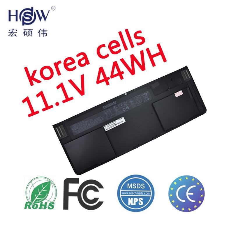 HSW Batterie D'ordinateur Portable pour Hp Elitebook Revolve 810 G1 Tablet Hstnn-ib4f Hstnn-w91c 698750-171 698943-001 698750-1c1 Od06xl batterie