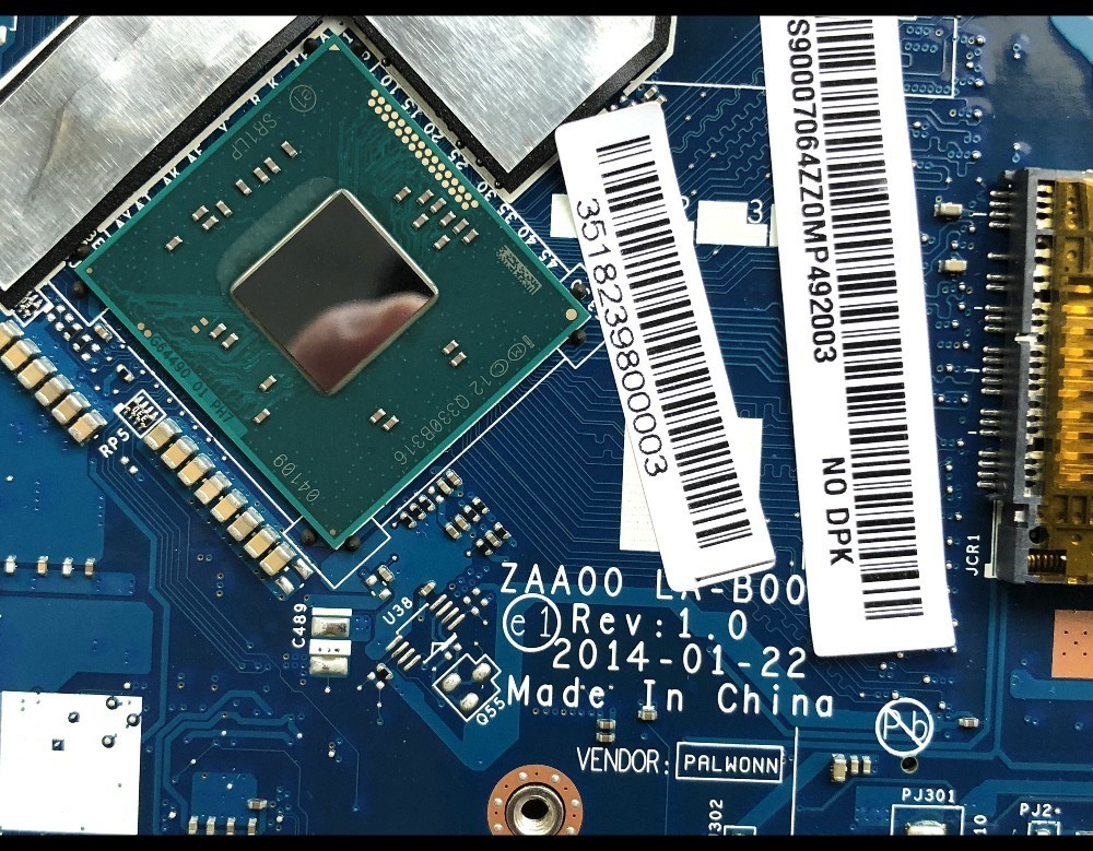 High quality FRU:90007064 for Lenovo C260 All In One Motherboard ZAA00 LA B001P SR1LP J1750 DDR3 100% Fully Tested-in Motherboards from Computer & Office    2