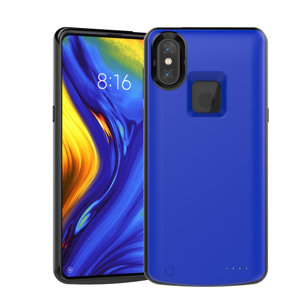 6500mAh Power Bank Battery Charger Case For Xiaomi Mi Mix 3 Case External Backup Charging Cover For Xiaomi Mix3 Battery Case