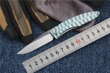 KESIWO New MDS folding knife M390 blade outdoor tactical knife Titanium handle EDC Flipper pocket knife high quality hand tool