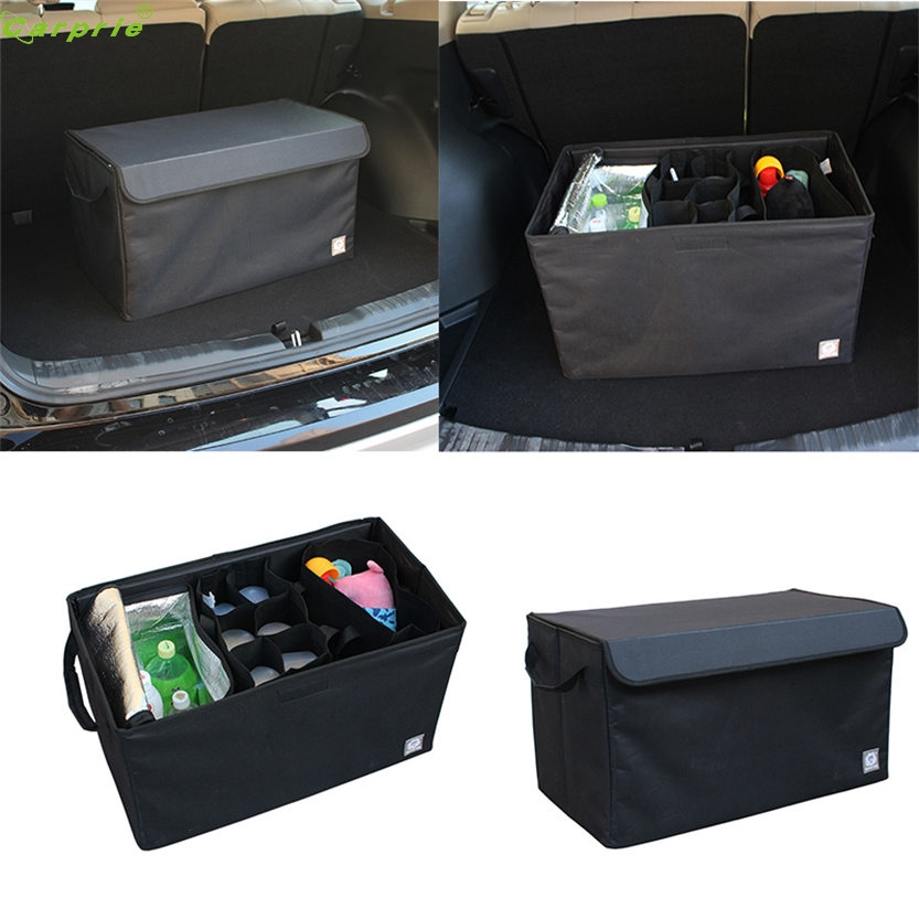 ФОТО Cls Foldable Car Auto Back Rear Trunk Seat Big Storage Bag Pocket Cage Organizer New Aug 05