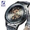 Lucha Del Dragón Multifunción Reloj Grande del dial de negocios relojes para hombre de primeras marcas de lujo luminoso reloj digital de 2016 Nueva Xingyunshi