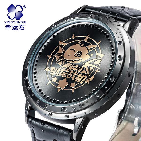 Luta Dragon Relógio Multifunction Big business dial mens relógios top marca de luxo luminous digital relógio 2016 Novo Xingyunshi