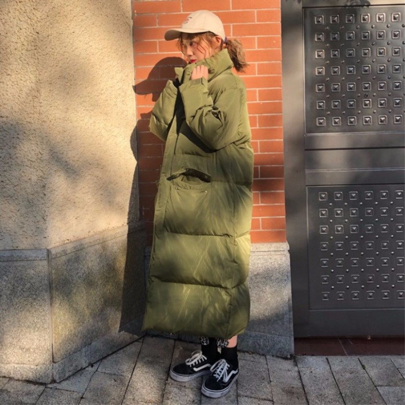 Jacken & Mäntel Parkas Unter Der Voraussetzung Baumwolle Kleidung Weibliche 2018 Neue Winter Koreanische Version Der Lose Dicken Brot Kleidung Wilden Langen Absatz Knie Parka