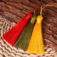 16cm polyester Frange gland suspendus corde coton gland couture rideaux décoration de la maison bijoux artisanat accessoires 10 pièces glands