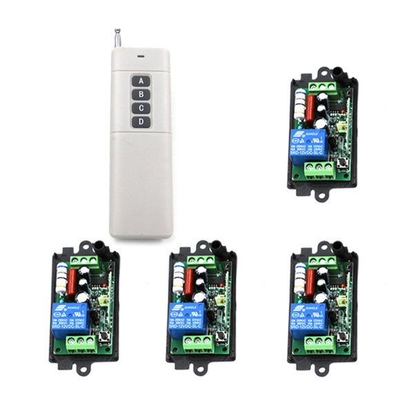 AC 110V 220V 315/433MHz 1CH Wireless RF Remote Control Switch Transceiver Module SKU: 5239 nrf2401b 2 4ghz wireless rf transceiver module