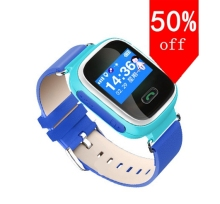 Original Baby GPS Tracker Wifi+GPS Smart Wrist with OLED screen Watch Kids SOS Smart Watch Support GSM Anti Lost