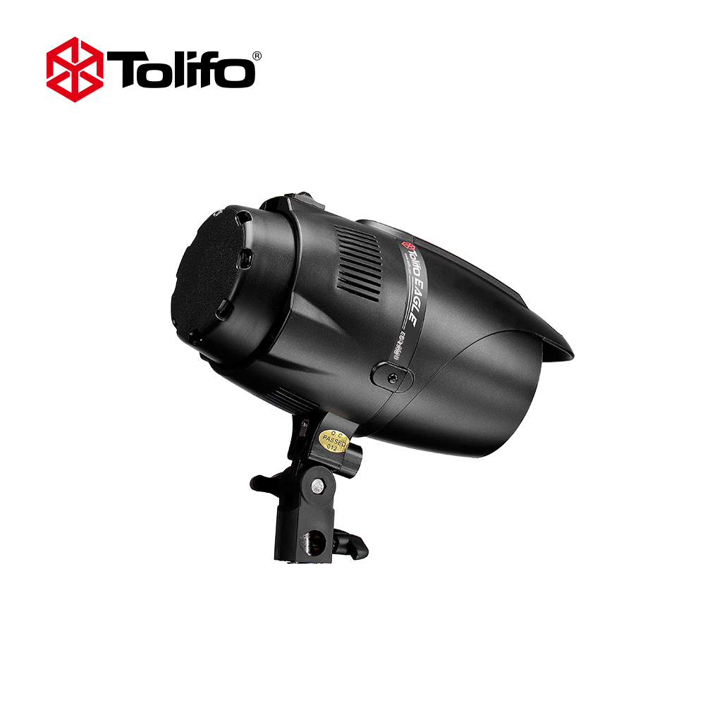 Tolifo EG 250B 5600K Photography Studio Strobe Photo Flash Light 250W Studio Flashgun with Bowens Mount for DSLR Camera